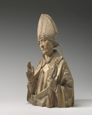 Image for A Bishop Saint (Burchard of Würzburg?)