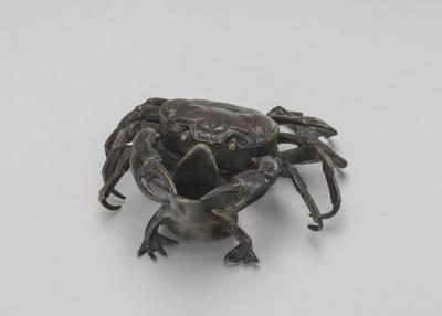 Image for A Crab on a Toad