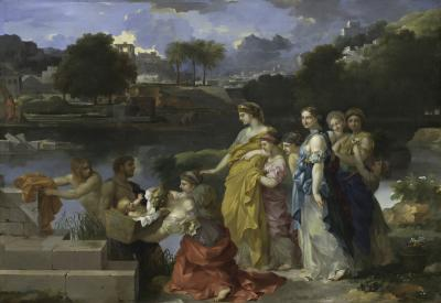 Image for The Finding of Moses