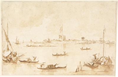 Image for The Fortress of San Andrea from the Lagoon