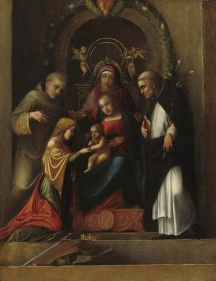 Image for The Mystic Marriage of Saint Catherine