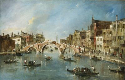 Image for View on the Cannaregio Canal, Venice