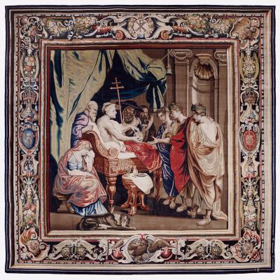Image for Tapestry showing the Death of Constantine