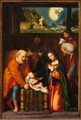 Image for Adoration of the Christ Child and Annunciation to the Shepherds