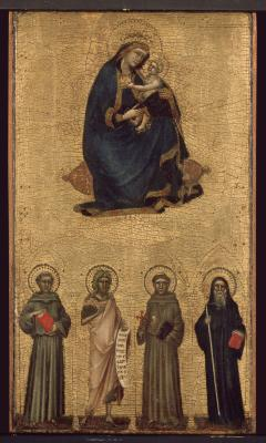 Image for Madonna and Child with Saints
