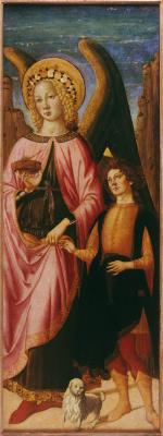 Image for Archangel Raphael with Tobias