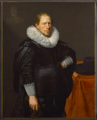 Image for Portrait of a Man in the Strick Family, probably Dirck Strick