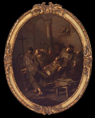 Image for Burial of a Franciscan Friar