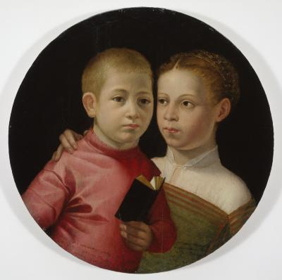 Image for Double Portrait of a Boy and Girl of the Attavanti Family