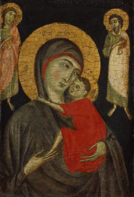 Image for Madonna and Christ Child with Two Saints