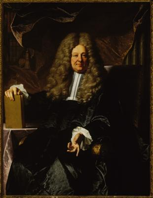 Image for Maitre de Requets/A French Magistrate of Requests (President Andre Pierre Hebert?), A