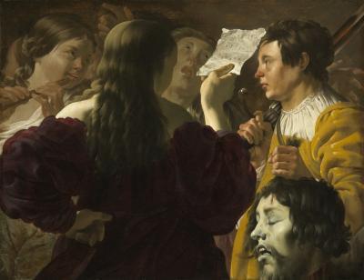Image for David Praised by the Israelite Women