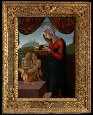 Image for Madonna and Child with Saint John