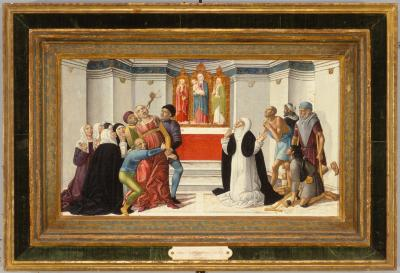 Image for Saint Catherine of Siena Exorcising a Possessed Woman