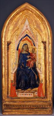 Image for Madonna and Child Enthroned with Donors