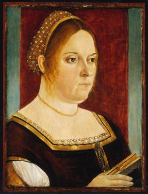 Image for Portrait of a Woman Holding a Book