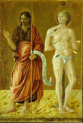 Image for Saint John the Baptist and Saint Sebastian
