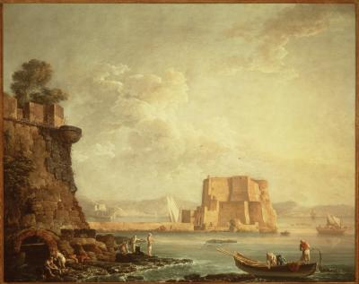 Image for View of the Castel dell'Ovo, Naples