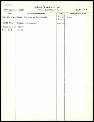 Image for K0228A - Work summary log, 1941-1943