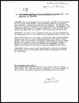 Image for K0023 - Alan Burroughs report, circa 1930s-1940s