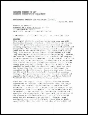 Image for K0421 - Examination summary and treatment proposal, 2011