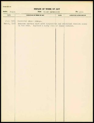 Image for K1559 - Work summary log, 1972