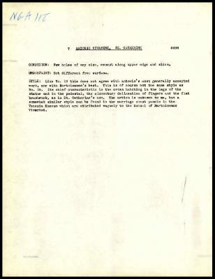 Image for K0007 - Alan Burroughs report, circa 1930s-1940s