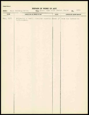 Image for K1972 - Work summary log, 1971