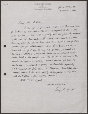 Image for K1253 - Expert opinion by Swarzenski, 1940