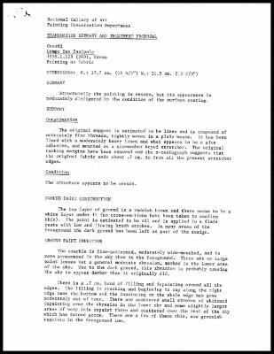 Image for K0262 - Examination summary and treatment proposal, 1985