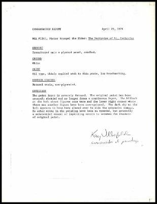 Image for K1696 - Examination summary, 1976