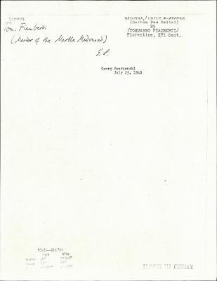 Image for K1005 - Expert opinion by Swarzenski, 1940