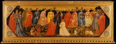 Image for Scene in a Court of Love: Filocolo's Parable