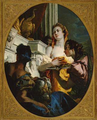 Image for Roman Matrons Making Offerings to Juno