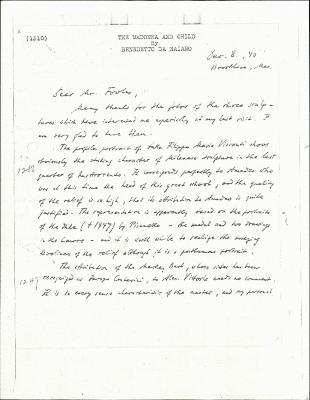 Image for K1310 - Expert opinion by Swarzenski, 1940