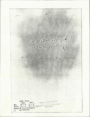 Image for K1349 - Expert opinion by Bode, circa 1910s-1920s