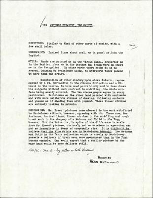 Image for K0019 - Alan Burroughs report, circa 1930s-1940s
