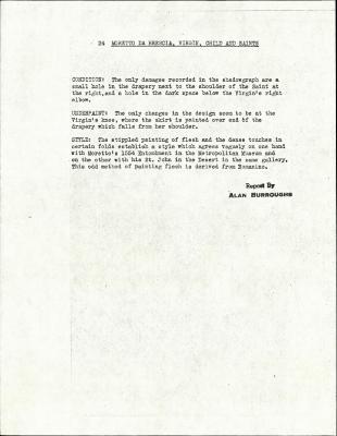 Image for K0024 - Alan Burroughs report, circa 1930s-1940s