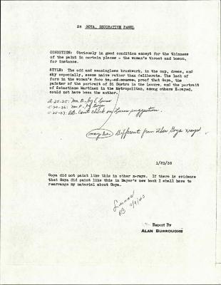 Image for K0028 - Alan Burroughs report, circa 1930s-1940s