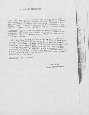 Image for K0003 - Alan Burroughs report, circa 1930s-1940s