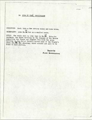 Image for K0034 - Alan Burroughs report, circa 1930s-1940s