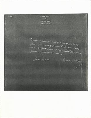 Image for K0329 - Expert opinion by Mayer, 1935