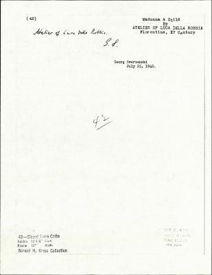 Image for K0042 - Expert opinion by Swarzenski, 1940