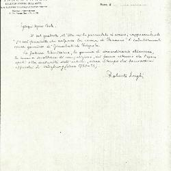 Image for K0005 - Expert opinion by Longhi, circa 1920s-1950s