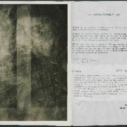 Image for K00X6 - Alan Burroughs report, circa 1930s-1940s