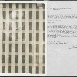 Image for K00X1 - Alan Burroughs report, circa 1930s-1940s