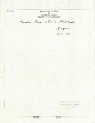 Image for KSF05E - Expert opinion by Swarzenski, circa 1940s