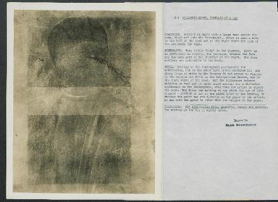 Image for K00X7 - Alan Burroughs report, circa 1930s-1940s