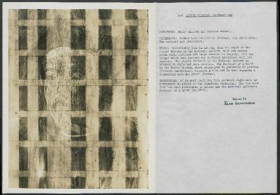 Image for K00X8 - Alan Burroughs report, circa 1930s-1940s