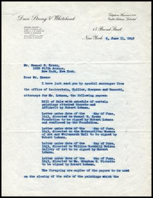 Image for Lehman, Robert, June 11, 1943